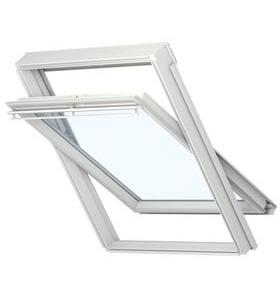 ventana pivotante aluplast